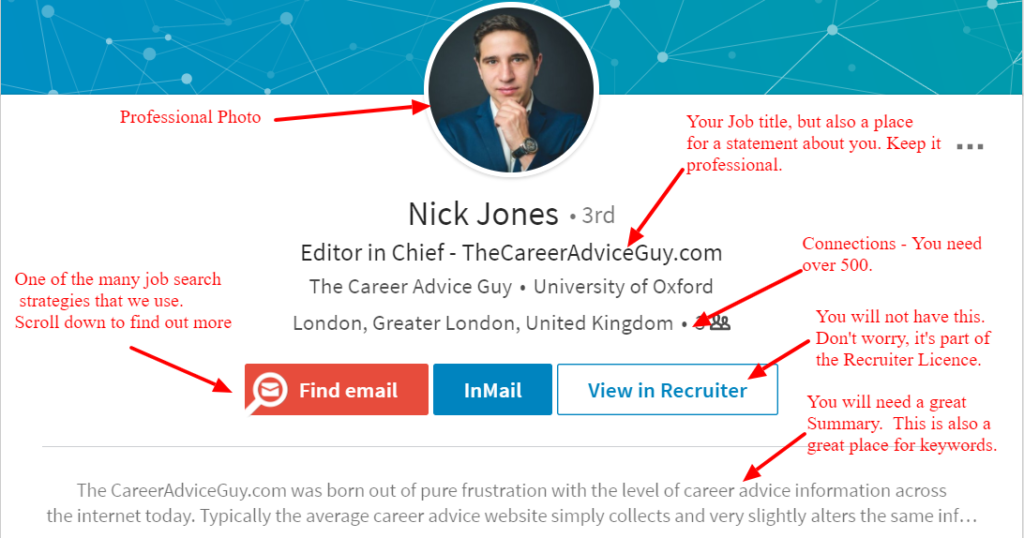 Nick Jones - LinkedIn Profile