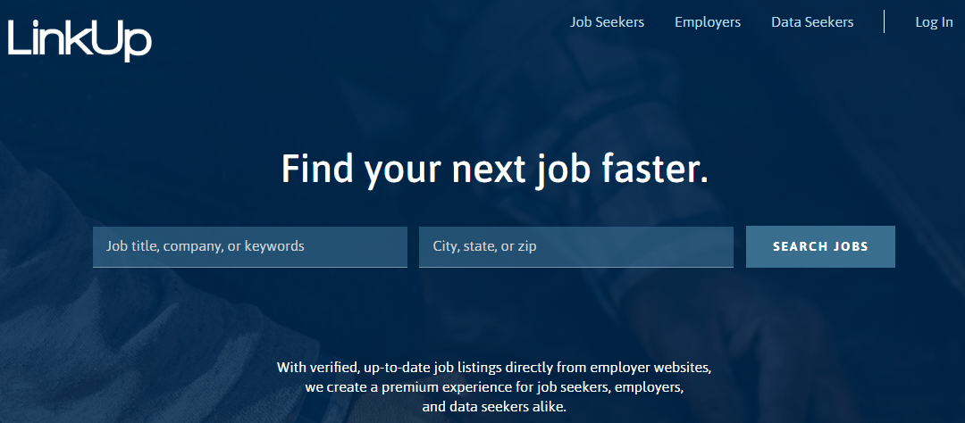 LinkUp Job Search Engine