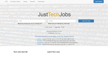 www.justtechjobs