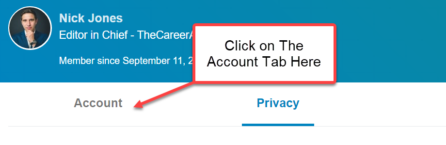 Linkedin Delete Account Steps